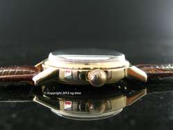 SPECTACULAR 1942 14K SOLID GOLD OMEGA MILIRARY OFFICERS WATCH R17.8 SC