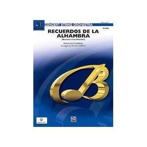 Recuerdos de la Alhambra Conductor Score & Parts: Sports