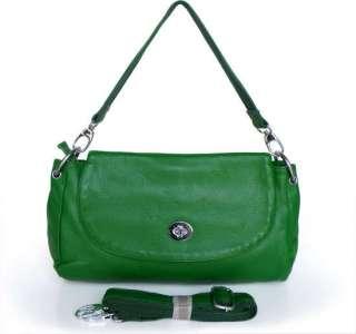 Leather 3 Uses Mini Shoulder Handbag Messenger Tote Bag