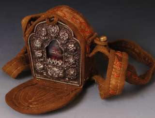 Magic weapon Fill Bla ma Guru Ghau Box Tibet Buddhist