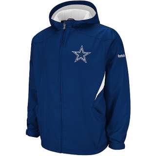 Reebok Dallas Cowboys Sideline Kickoff Midweight Jacket