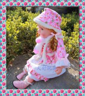 New Fashion Smiling Musical Doll ,22 inch Real music doll