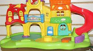 2003 WEEBLEVILLE PLAY CENTER, PLASTIC TOY TOWN ONLY