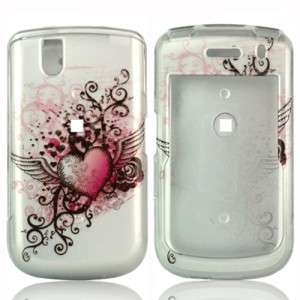 Grunge Heart Hard Case Phone Cover BlackBerry Bold 9650