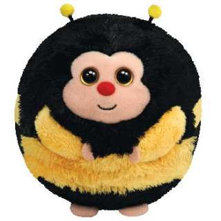 TY Beanie Ballz ZIPS the Bumble Bee 5   animal plush toys balls