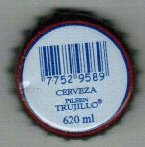 Peru Cerveza Pilsen Trujillo Beer Bottle Caps