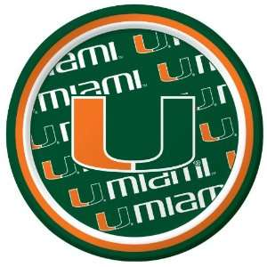 Lets Party By Creative Converting Miami Hurricanes Dessert