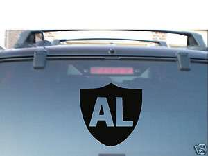 OAKLAND RAIDERS OWNER AL DAVIS RIP 7YR VINYL CAR WINDOW DECAL STICKER