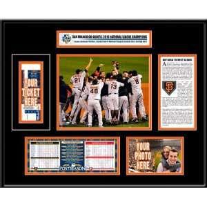 San Francisco Giants 2010 NLCS Ticket Frame Sports