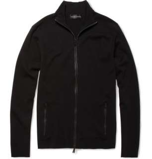Ralph Lauren Black Label Merino Wool Blend Zip Up Top  MR PORTER