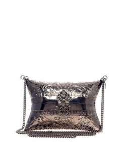 French Connection  French Connection Metal Pillow Clutch Bag at