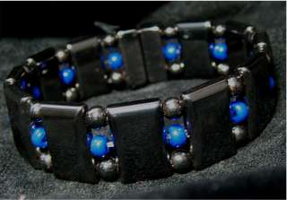 Magnetic Therapy Jewelry TRIPLE.THIN BLUE LINE.RED LINE. Bracelets.6.5