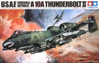 Tamiya 61028 U.S.A.F A 10A THUNDERBOLT II 1/48 scale kit