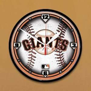 San Francisco Giants Baseball Wall Clock