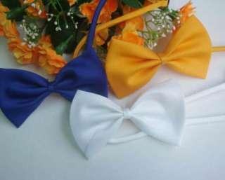Lots~30 Mix Colors Pet Dog Cat handsome bow tie Necktie