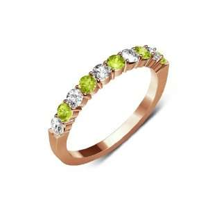 Color) & Natural Round Peridot (AA+ Clarity,Yellow Green Color) 10