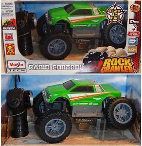 MAISTO TECH Rock Crawler Junior RTR, grün