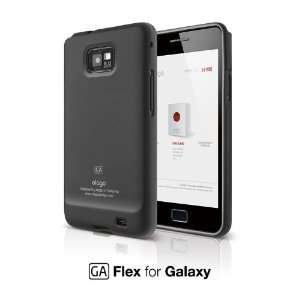 Flex Case for Samsung Galaxy S2 (AT&T Only)   SF (Soft Feeling) Black