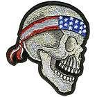 aufnaeher patch profile skull harley davidson neu eur 10 00
