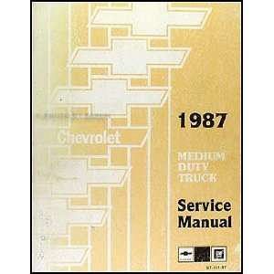 GMC Medium Duty Truck Repair Shop Manual Original 4000 7000: GMC