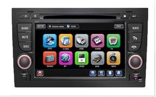 Audi A4 S4 RS4 8E 8F B9 B7 Seat Exeo Autoradio Navigation GPS  USB