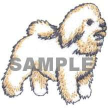 Dog Breed Embroidery Designs, custom embroidered dog items Artikel im