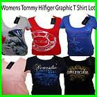 WHOLESALE WOMENS TOMMY HILFIGER GRAPHIC T SHIRT LOT 25