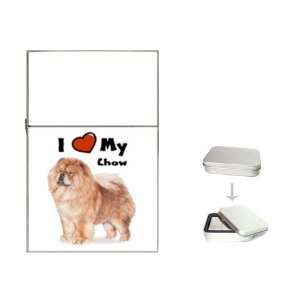 I Love My Chow Chow Flip Top Lighter Health & Personal