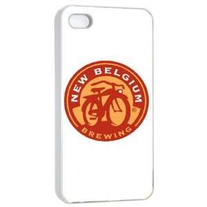 Fat Tire Beer Logo Case for Iphone 4/4s (White) Free