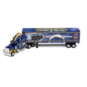 San Diego Chargers 2006 NFL Peterbilt Tractor Trailer