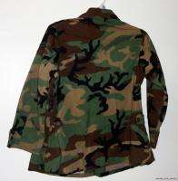 Air Force Surplus Woodland Camouflage Womens Maternity Coat Size