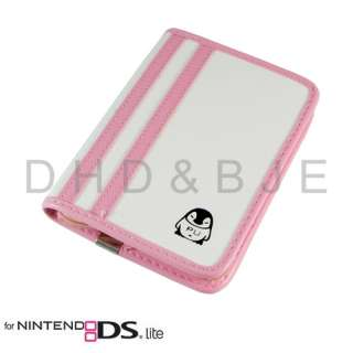 Pink Game Card Carry Case Bag Pouch for Nintendo DS