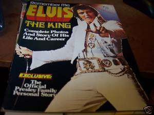 Remember Me Elvis the King Magazine 1977