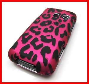 PINK LEOPARD HARD CASE COVER FOR LG BANTER RUMOR TOUCH
