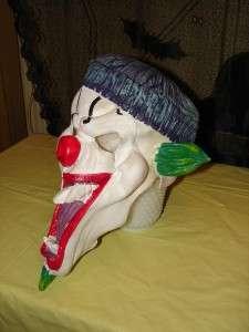 EVIL CLOWN Creepy Scary Halloween Costume Mask RUBIES