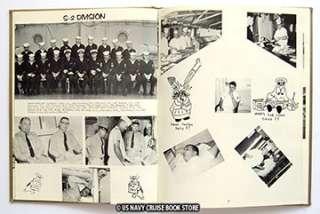 USS PRAIRIE AD 15 WESTPAC VIETNAM CRUISE BOOK 1964