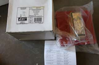 EST EDWARDS 405 7A T RED 24V FIRE ALARM SIGNAL STROBE