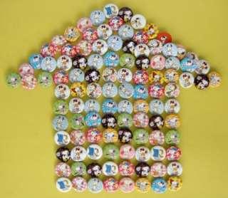 NEW Peanuts Gang Snoopy badge pin Lot 102pcs D2.5cm
