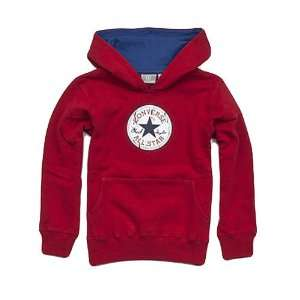 Converse Kinder Pullover Vintage Patch Hoody retro red