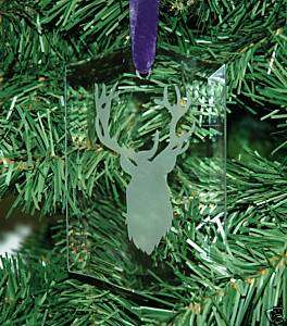 Hunter, Hunting, Buck, Elk Christmas Ornament