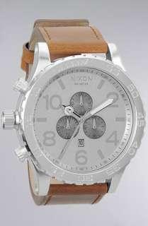 Nixon The 5130 Chrono Watch in Saddle  Karmaloop   Global