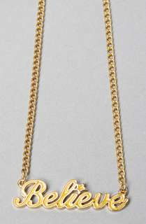 Disney Couture Jewelry The Believe Necklace in Yellow  Karmaloop