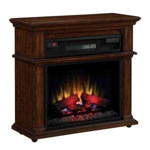 Chimney Free 32 in Infra Red Quartz Fireplace 73399