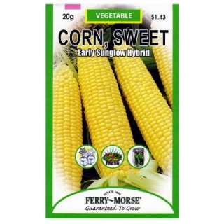 Ferry Morse Corn Early Sunglow Hybrid Seed 8112