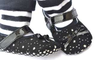 Black Mary Jane high top kids toddler baby girl shoes boots size 2 3 4