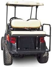 Flip Seat Club Car Precedent (White in color) Golf Cart 2 n 1 Flip