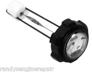 part GAS FUEL CAP gauge 782 CUB CADET 2 1/4 X 9 106945