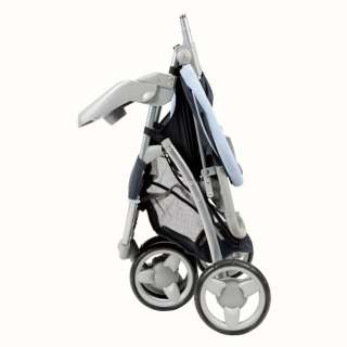 Safety 1st 3 Ease Wheel Baby Stroller & Car Seat Travel Set  Midnight