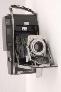 POLAROID 110 B LAND CAMERA/127mm F4.7 RODENSTOCK LENS & MORE