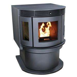 2500 Sq. ft. 80 lb. Hopper Pellet Stove BCPS700FS at The Home Depot